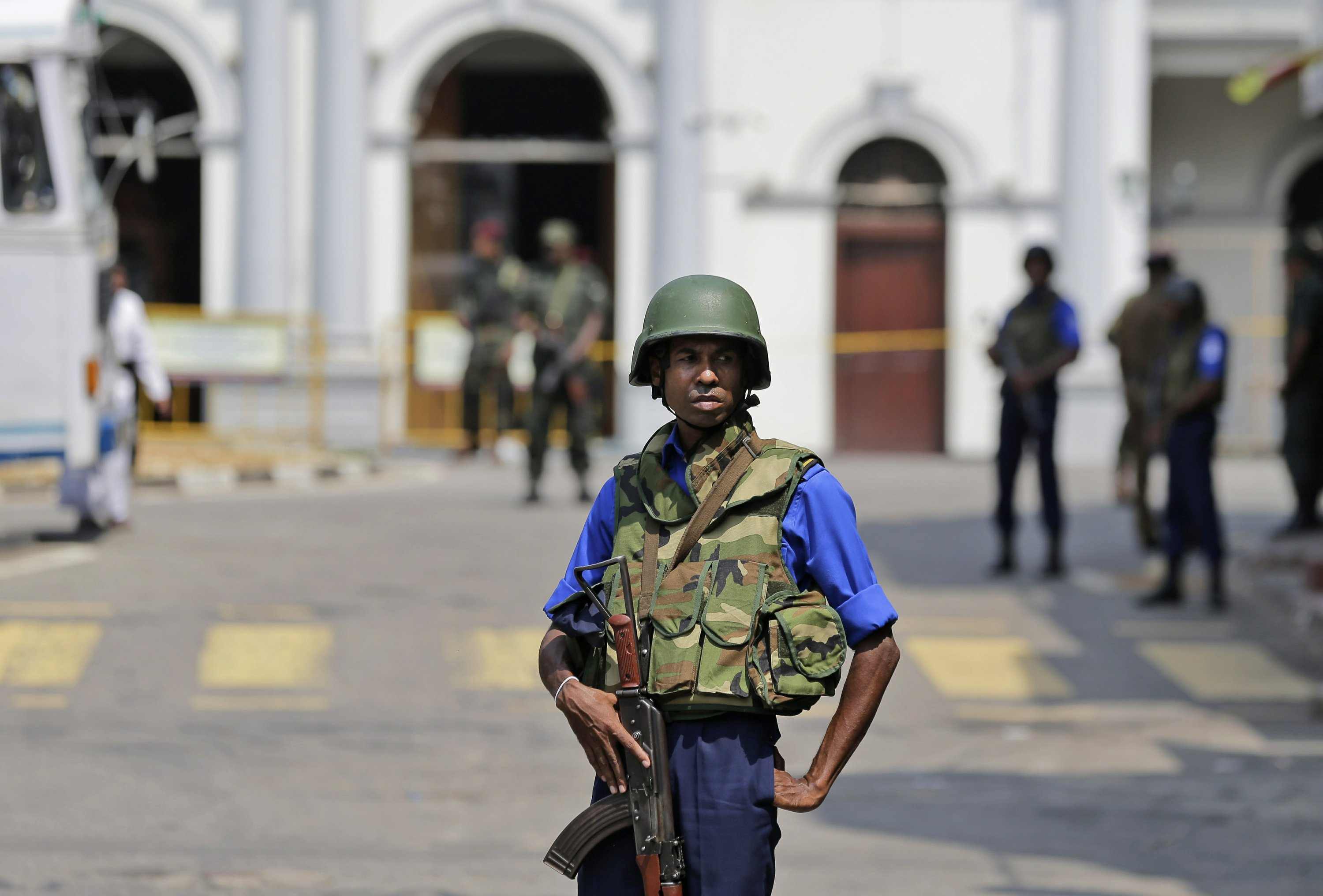 US says to avoid Sri Lanka places of worship, fearing attack