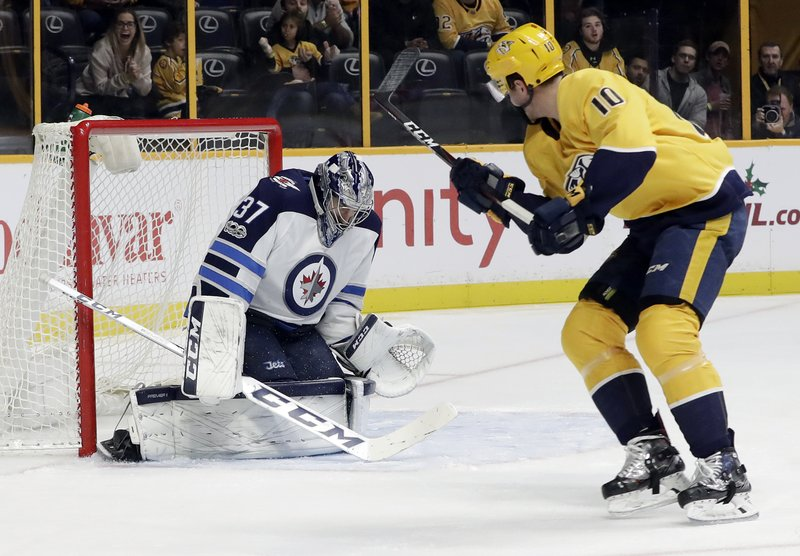 Colton Sissons, Connor Hellebuyck