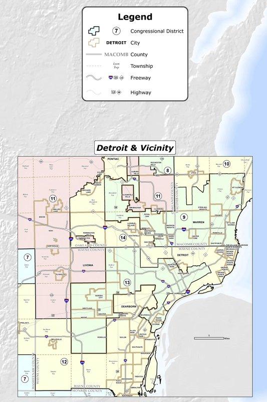 Judges Michigan Must Redraw Congressional Legislative Maps