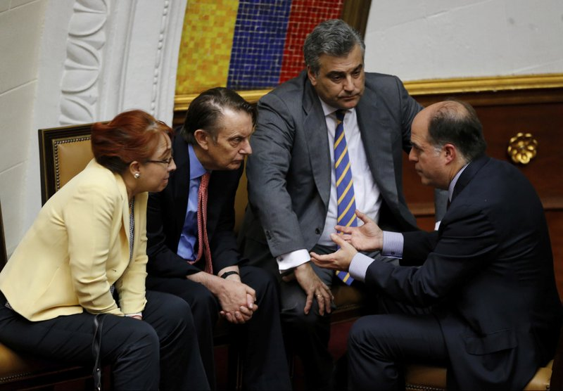 Julio Borges, Nicolas Harrocks, Sylvia Sevilla, Jesus Silva