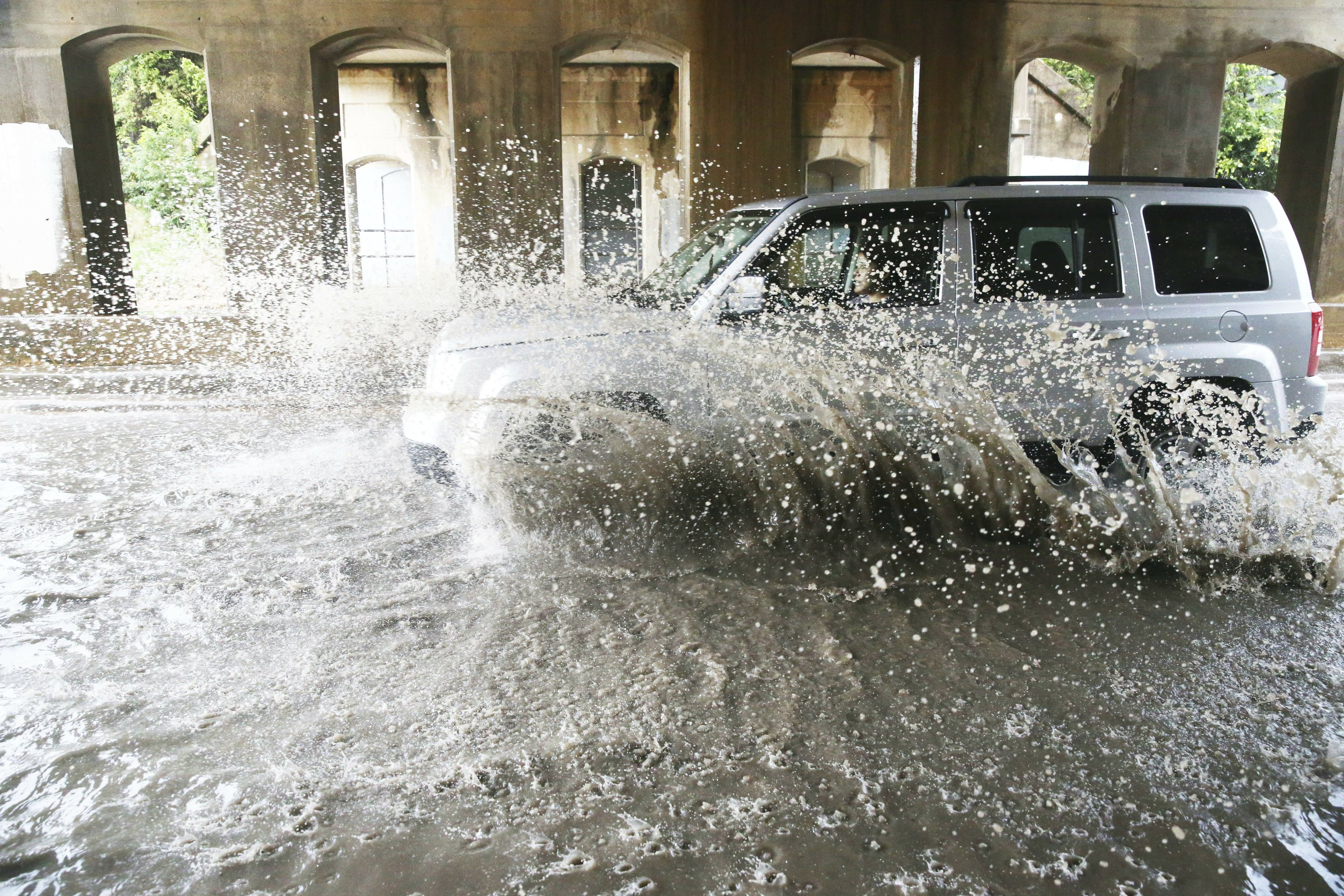 Storms dump record rain in Oklahoma and cause death in Texas