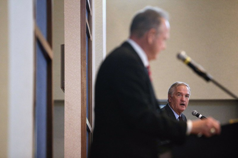 Roy Moore, Luther Strange