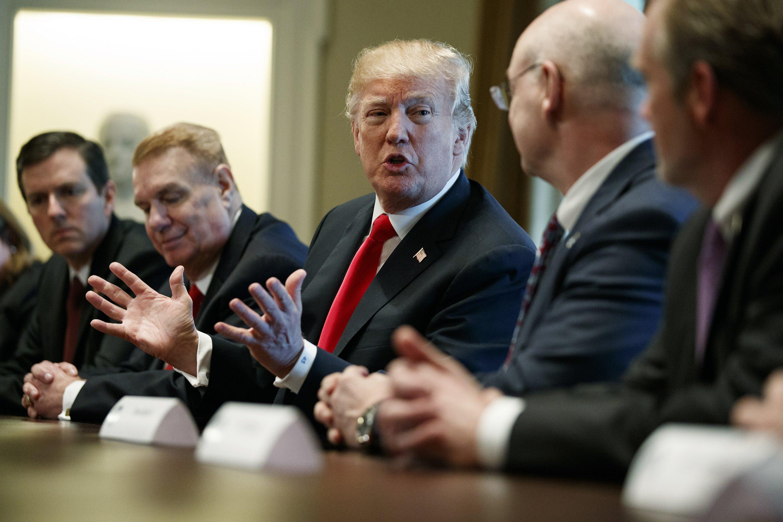 World leaders push back against Trump's trade war threat