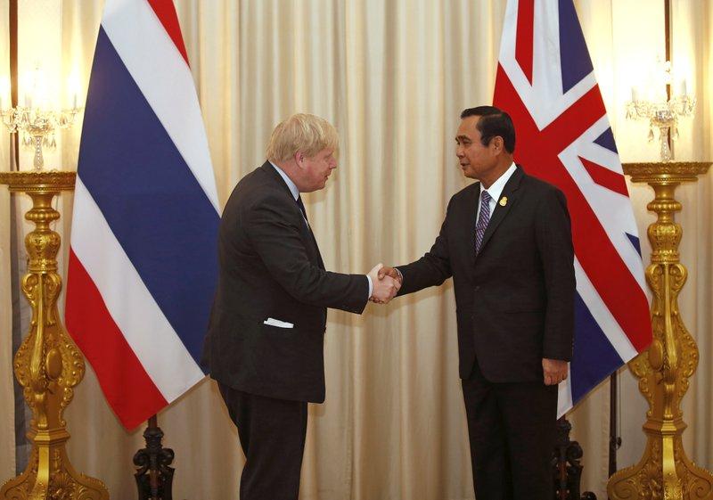 Boris Johnson, Prayuth Chan-Ocha