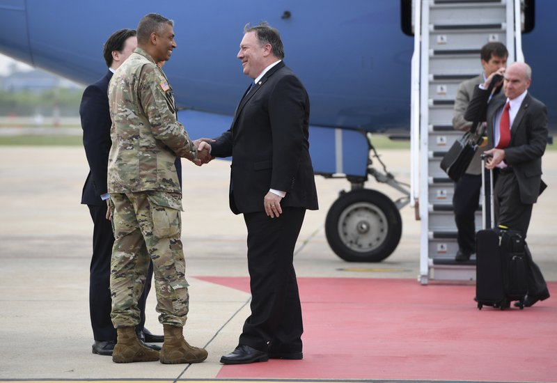 Mike Pompeo, Vincent Brooks