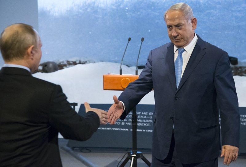 Vladimir Putin, Benjamin Netanyahu