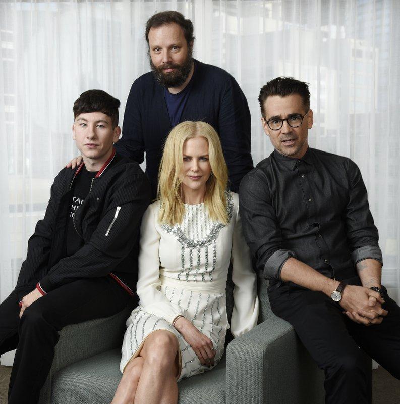 Yorgos Lanthimos, Nicole Kidman, Colin Farrell, Barry Keoghan