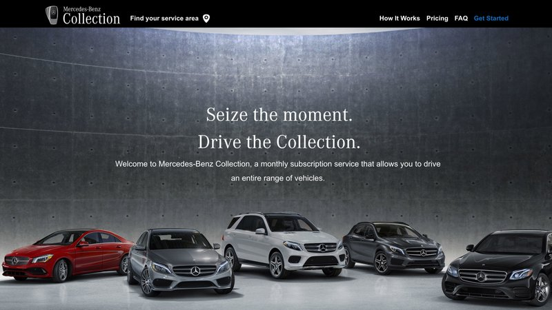 "Mercedes-Benz Launches Broadest Luxury Vehicle Subscription Plan in the U.S. with ""Mercedes-Benz Collection"""