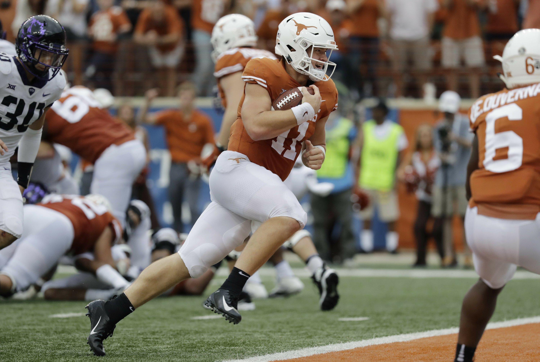 Steady Qb Sam Ehlinger Leading Texas Offense Sooners Loom