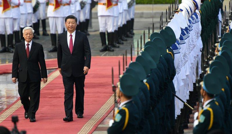 Xi Jinping, Nguyen Phu Trong