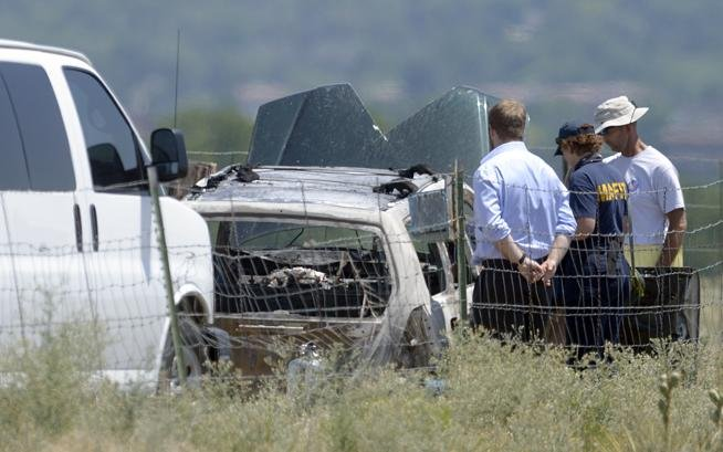 Boulder Man Who Set Car on Fire and Died Identified