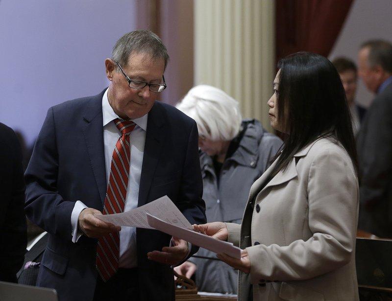 Tom Berryhill, Janet Nguyen