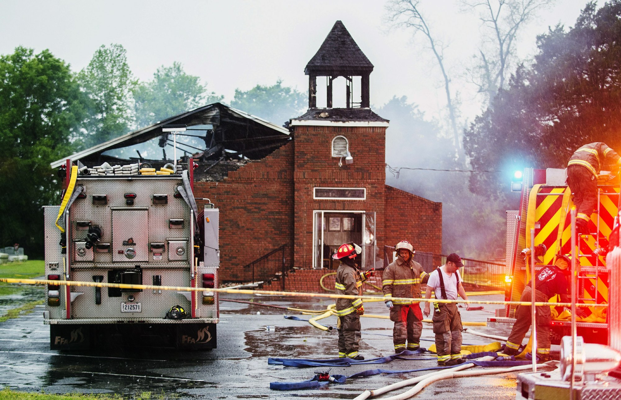 After Notre Dame, support for torched black churches swells