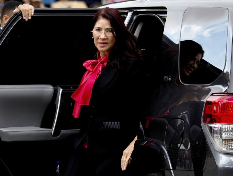 Nephews of Venezuela's first lady face trial on drug charges