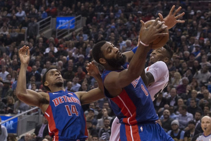 Andre Drummond; Delon Wright; Ish Smith