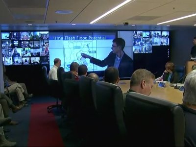 Homeland Security Briefed on Irma Preps
