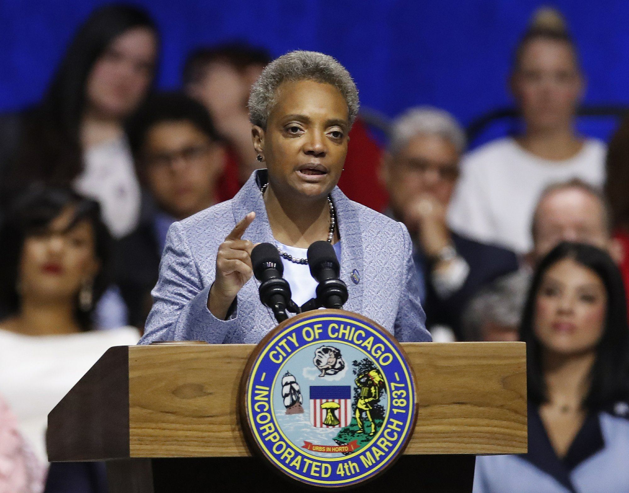 The Latest: New Chicago mayor delivers on reform pledge