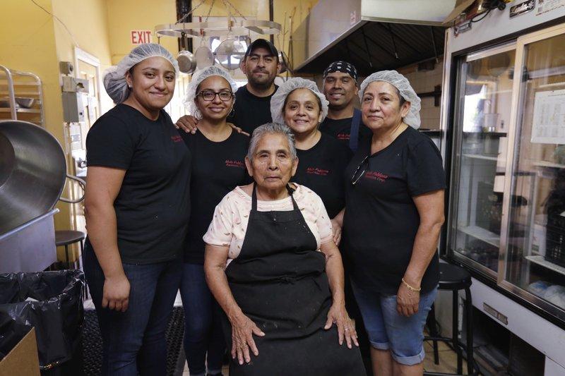 Canny Rojas, Sally Rojas, Jesse Hernandez, Christina Mora, Franco Hernandez, Candida Fuentes, Damiana Bravo