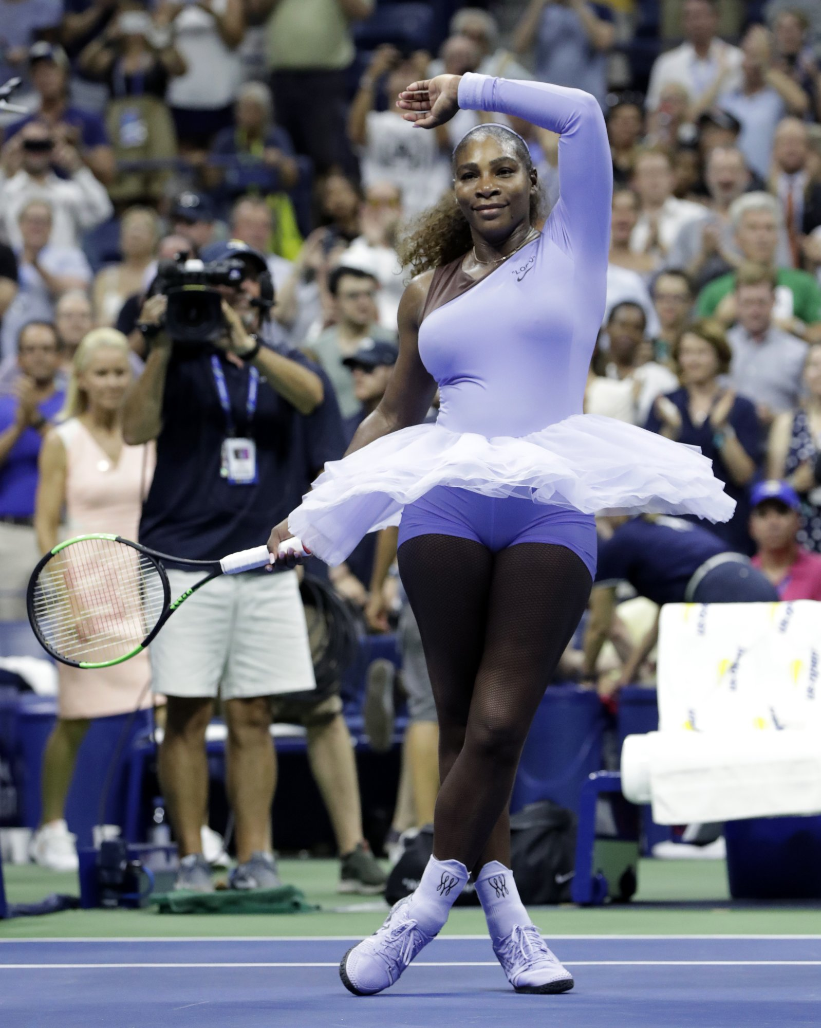 3e14372ee5d Serena Williams wins in tutus at US Open