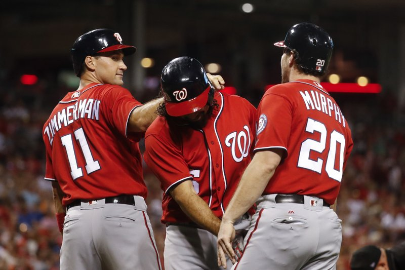 Anthony Rendon, Ryan Zimmerman, Daniel Murphy