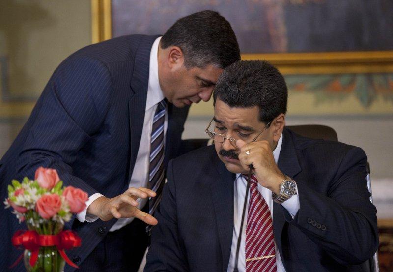 Rodriguez Torres, Nicolas Maduro