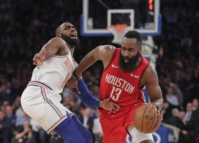 1304538b2b0c NEW YORK (AP) — James Harden inched past Wilt Chamberlain and didn t stop  his latest one-man show until he d tied Kobe Bryant.