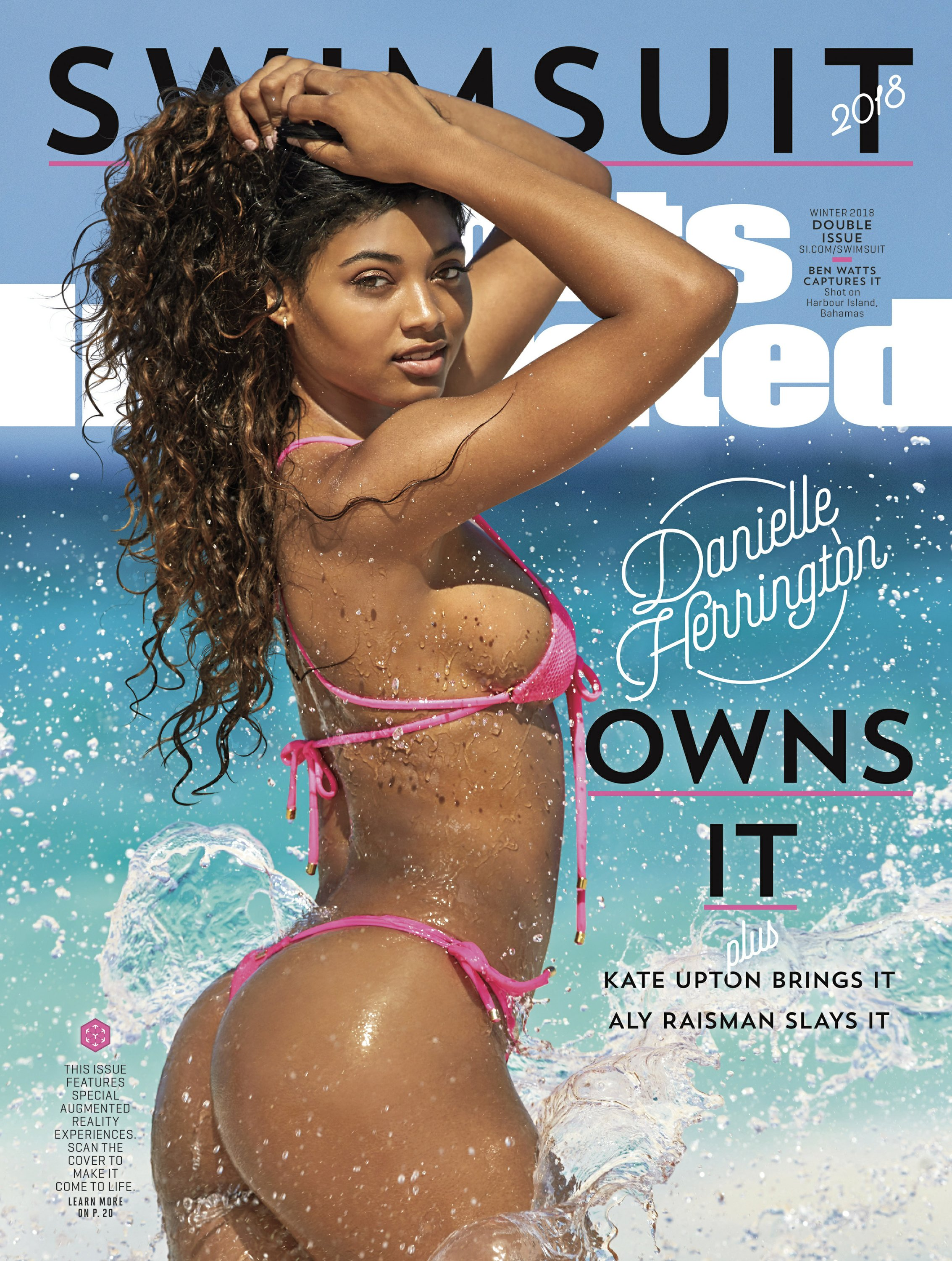 Danielle Herrington covers Sports Illustrated Swimsuit issue