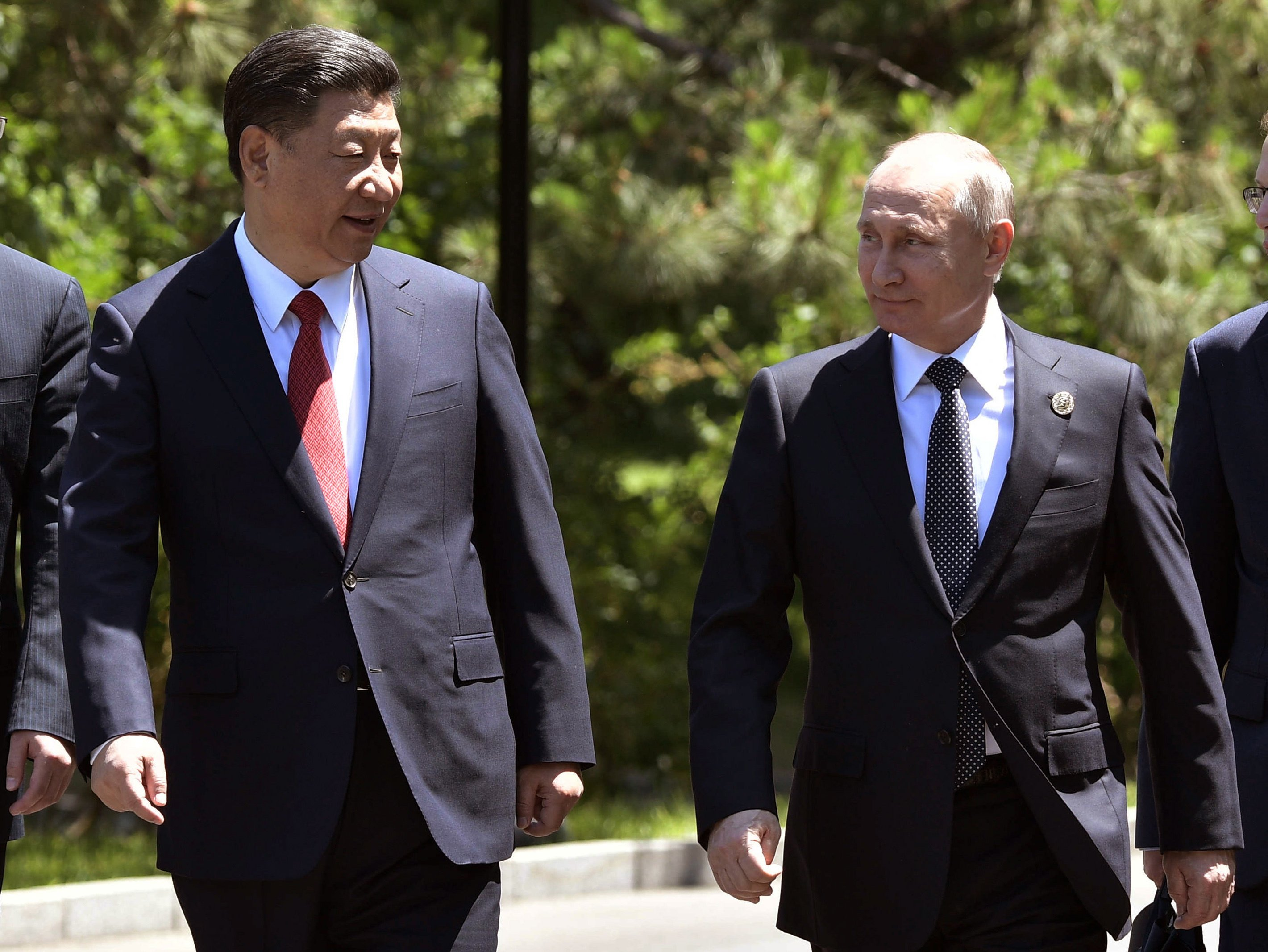 China's Xi says Silk Road plan boosts finance, security ties