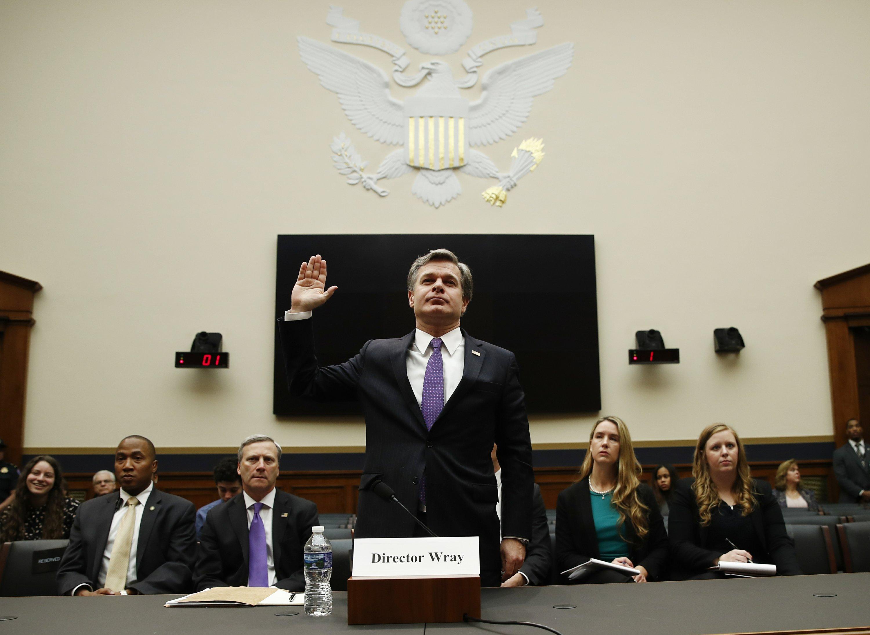 FBI director defends FBI after Trump's attacks on agency