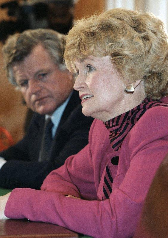 Margaret Heckler, Edward M. Kennedy