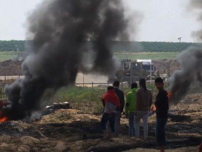 2 Dead, Dozens Hurt in Gaza Border Protest