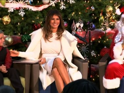 First Lady Wishes for Holiday on Deserted Island