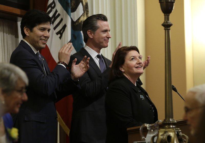 First woman LGBT lawmaker to lead California Senate