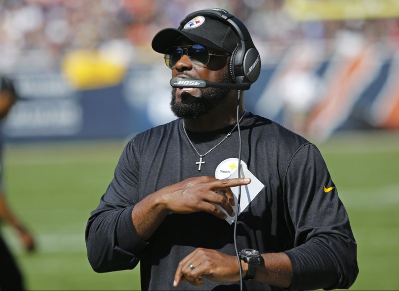 Steelers' coach Mike Tomlin called