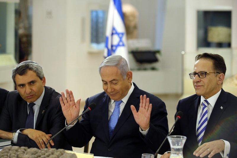 Benjamin Netanyahu, Zeev Elkin, Tzachi Braverman