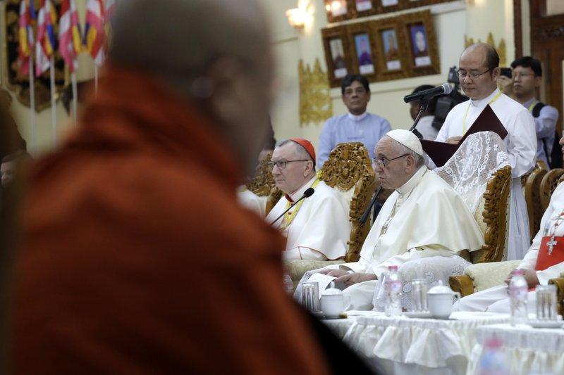 Pope Francis, Bhaddanta Kumarabhivamsa