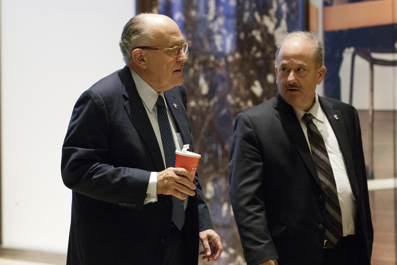LO ULTIMO: Giuliani, favorito para secretario de Estado