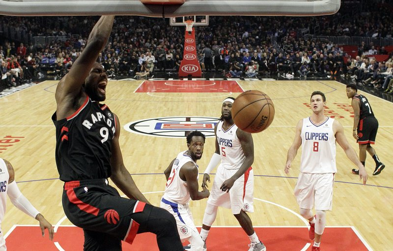 NBA-best Raptors hand Clippers worst loss of season, 123-99