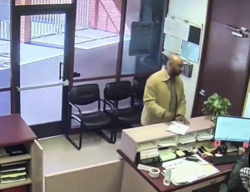 Video shows San Bernardino shooter calmly entering school