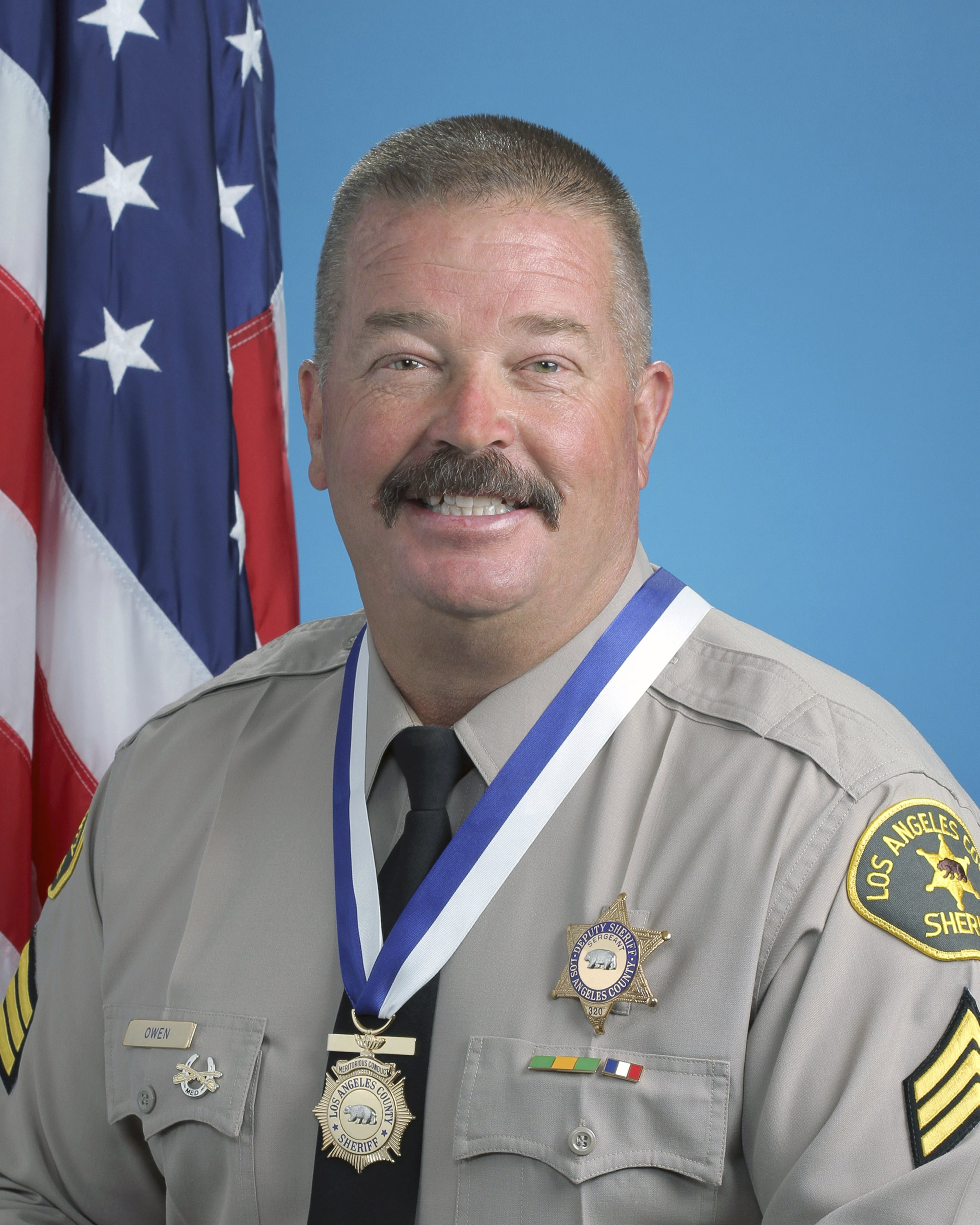Parolee charged in slaying of Los Angeles County sergeant