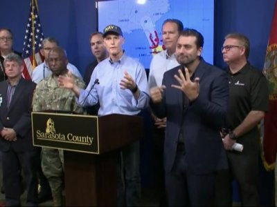 Fla. Gov. Scott Says State Ready For Aftermath
