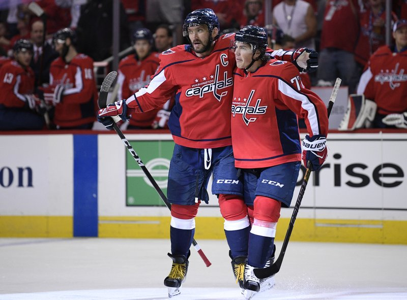 cb2e99b0 Capitals open Stanley Cup defense with 7-0 rout of Bruins