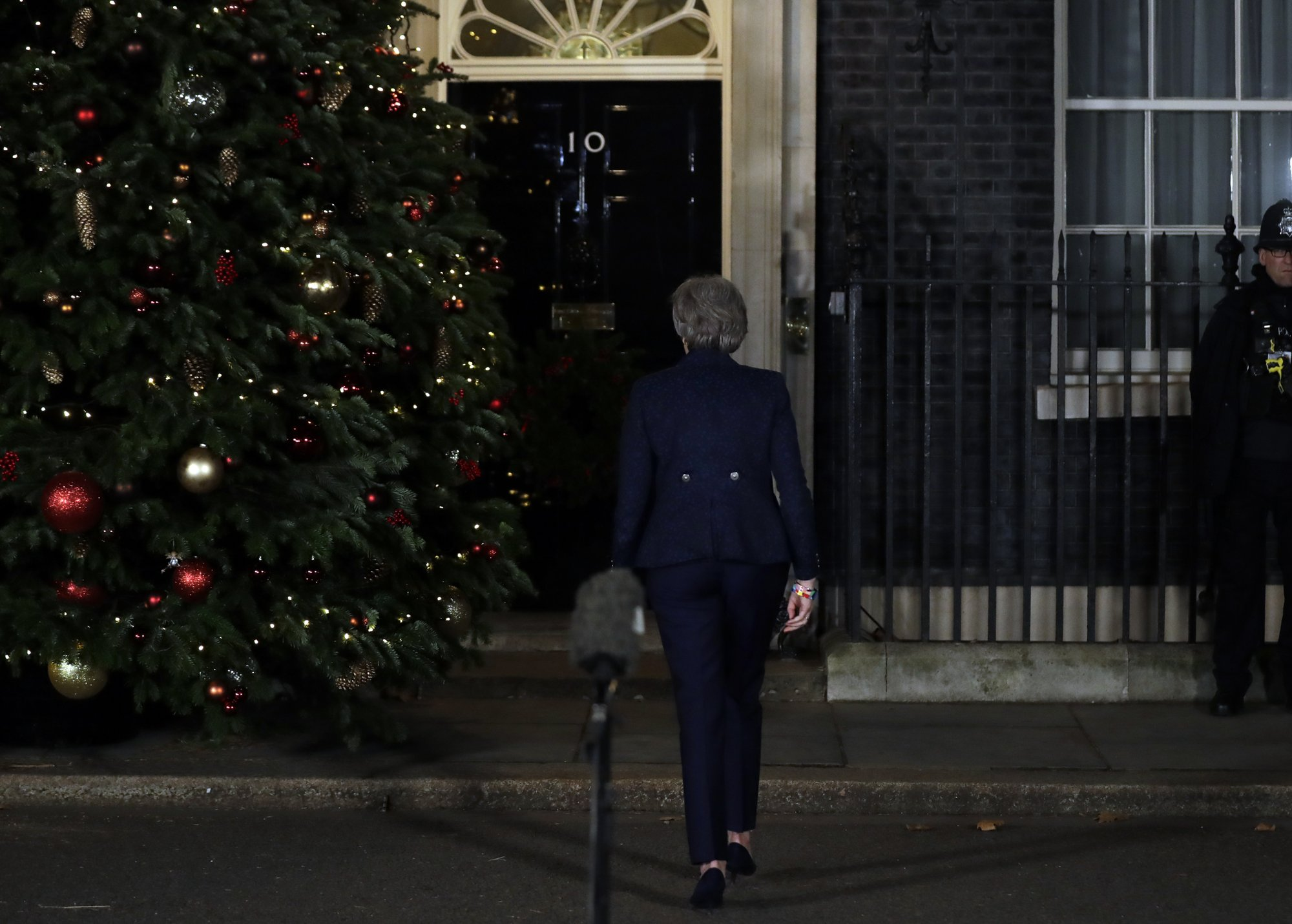 As May faces leadership vote, a look at what happens next