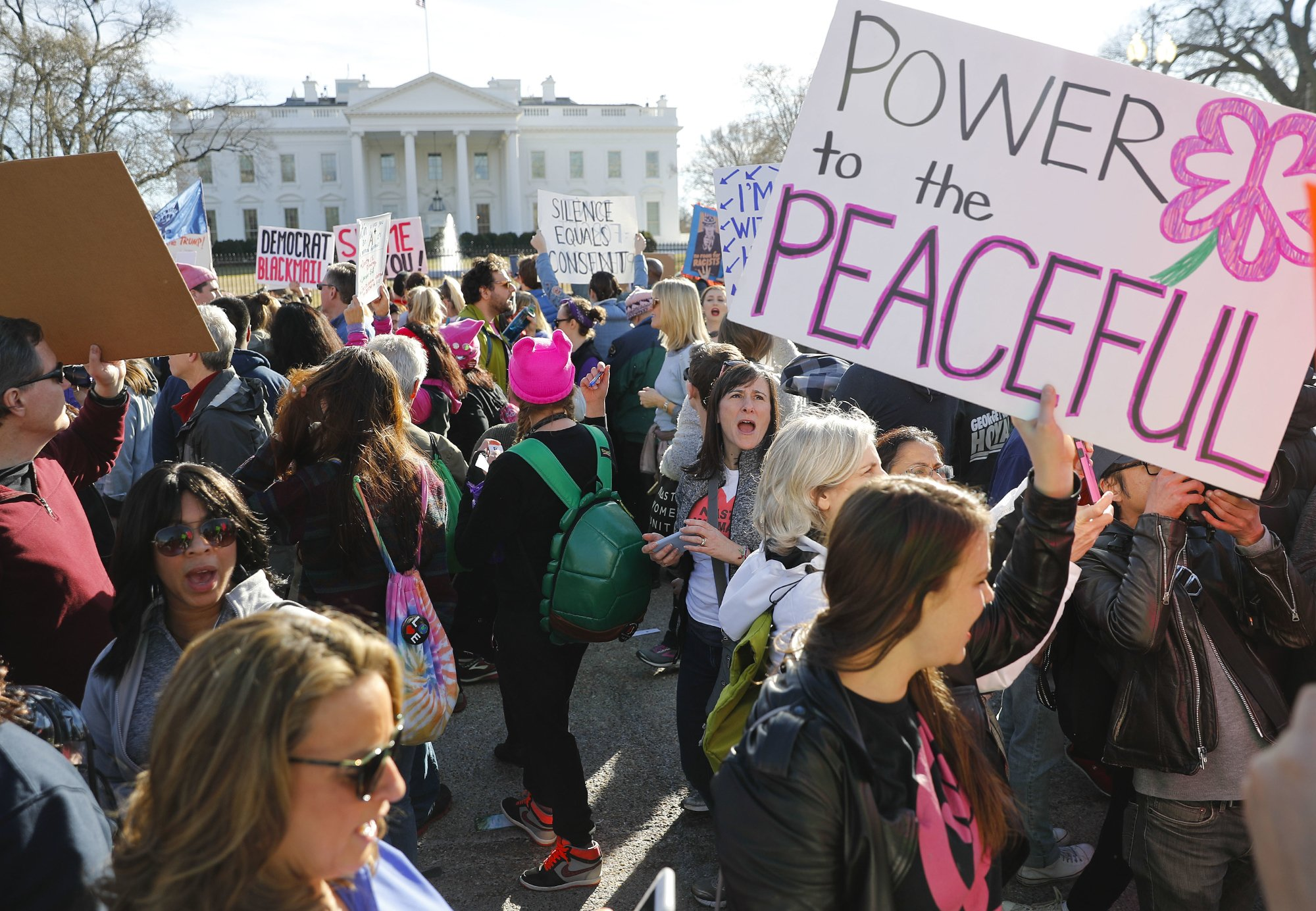Women marched, then ran: will they win in record numbers?