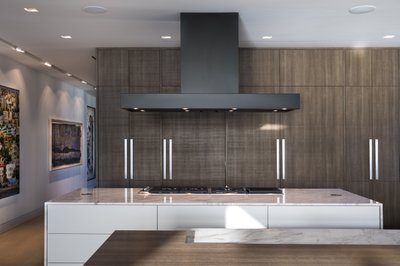 low profile high style kitchens that go with the flow