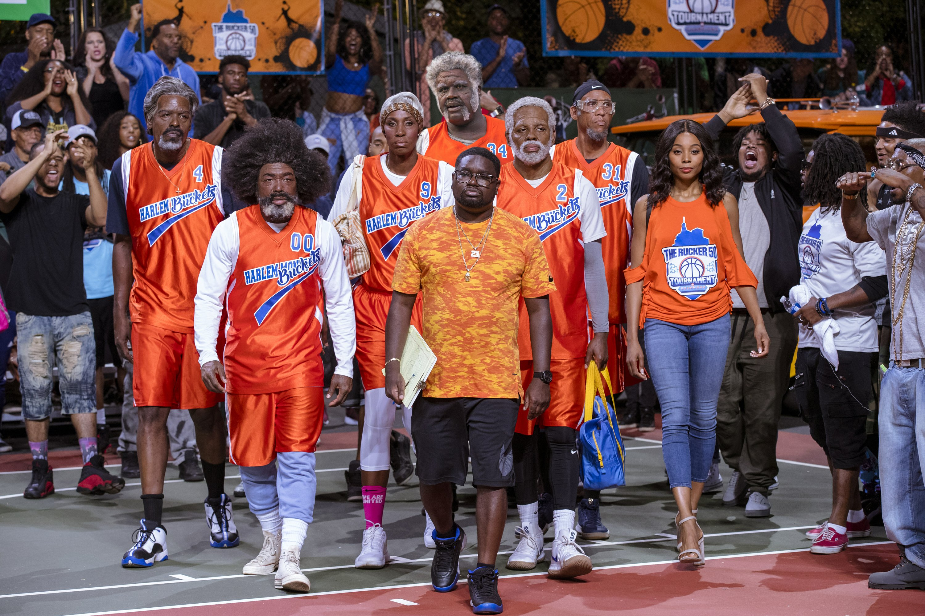 Review: NBA greats go geriatric in