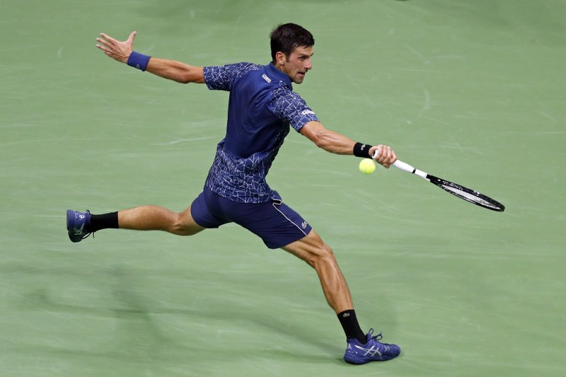 4e83eb8378b The Latest  Djokovic beats Millman to reach US Open semis