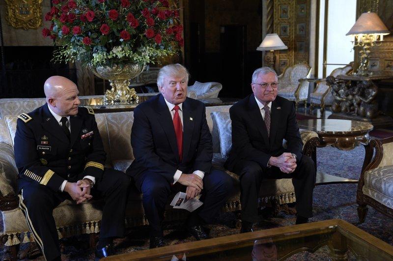Donald Trump, H.R. McMaster, Keith Kellog