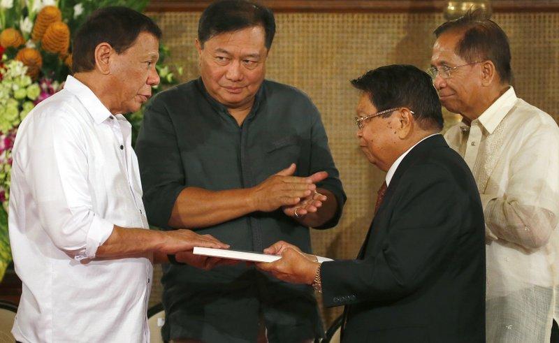 Rodrigo Duterte, Jesus Dureza, Ghazali Jaafar, Pantaleon Alvarez