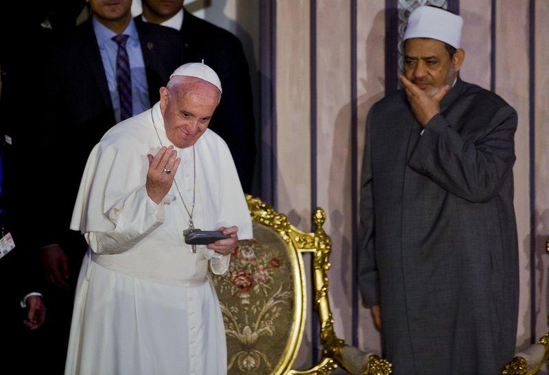 Ahmed el-Tayeb, Francis